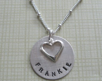 1 name/disc Mother's Necklace