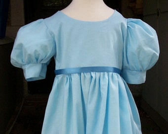 """SALE..Girls size 2/3 Wendy Darling Girls costume / Peter Pan   """"ready to ship"""" PLEASE read full description."""
