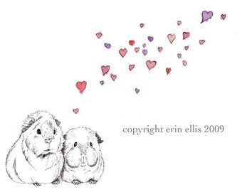 Guinea Pig 8x10 Print