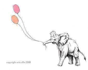 Elephant 5x7 Print