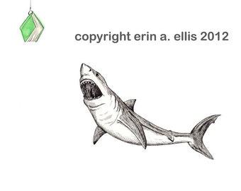 Great White Shark 8x10 Print