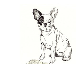 French Bulldog 5x7 Print