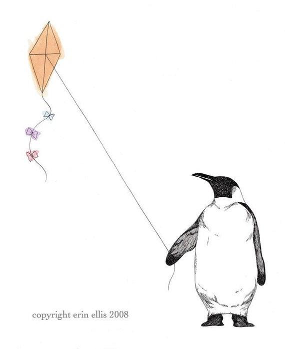Penguin 5x7 Print