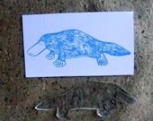 platypus clear polymer rubber stamp