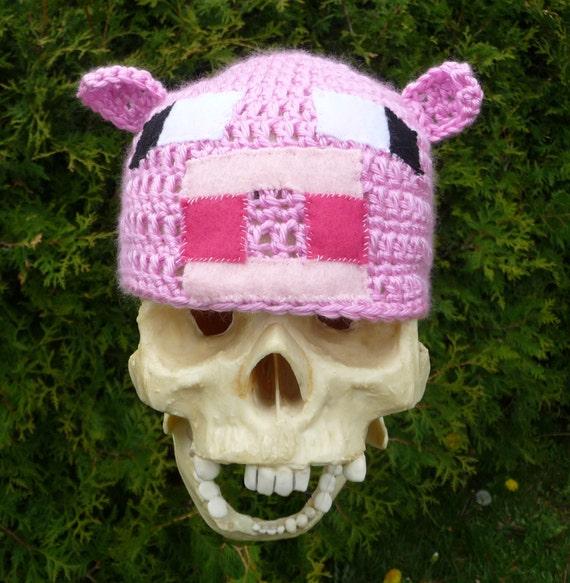 Minecraft Piggy Beanie