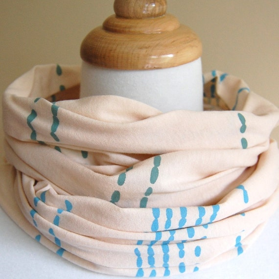 Beads - Jersey Cotton Scarf