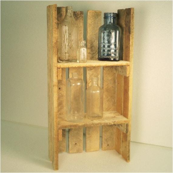 Recycled Wood Lath Shelf Shelving