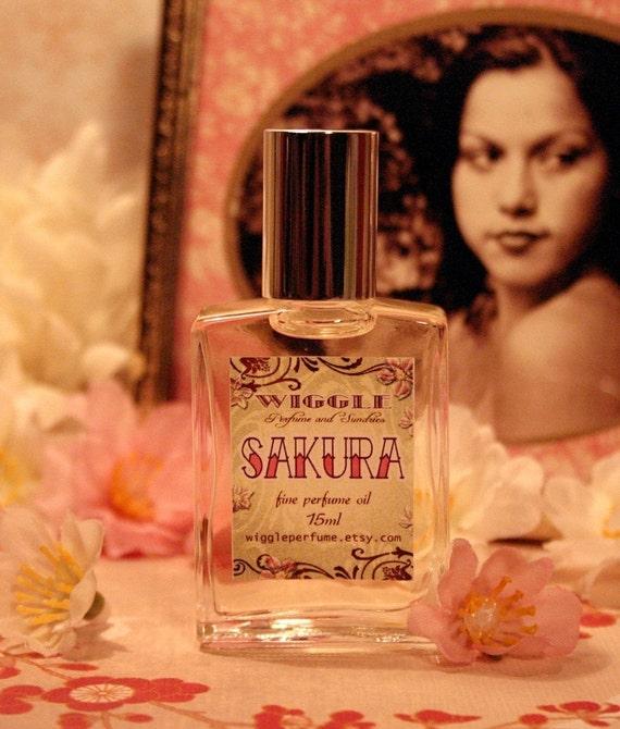 Sakura Perfume Oil 15ml