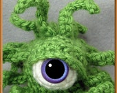 Springy Cthulhu Baby Key Chain or Backpack Buddy