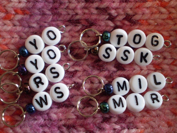 Super Set Knitters Helper stitch markers more sizes & colors