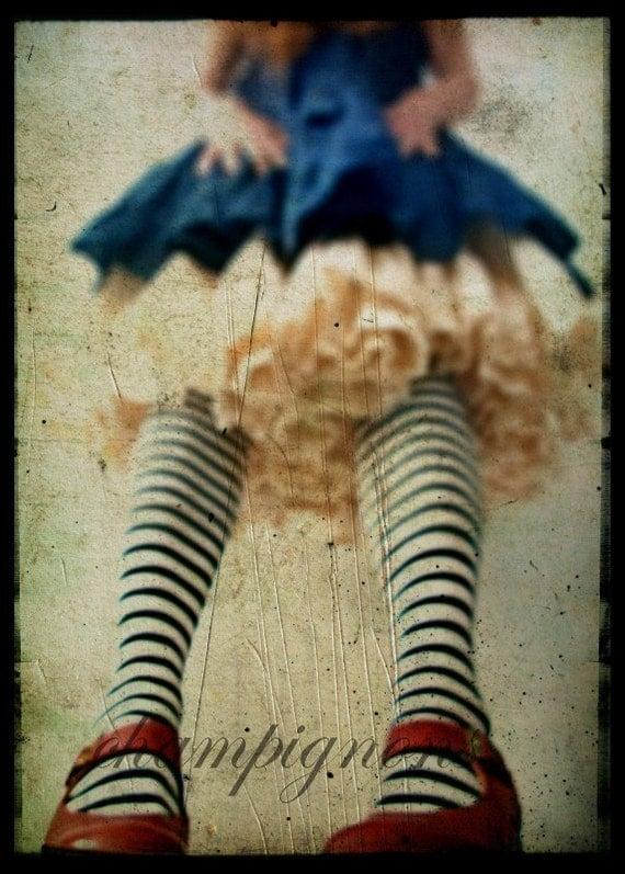 A4 sized Alice in Wonderland- Big- version one