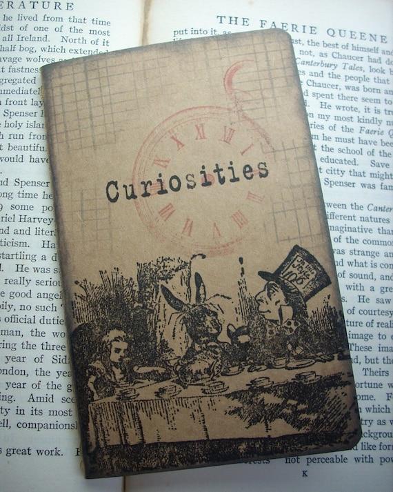 Alice in wonderland Curious Tea Party Pocket moleskine cahier