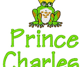 PILLOWCASE Frog Prince Personalized FREE
