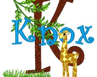 PILLOWCASE Hungry Giraffe Personalized Pillowcase
