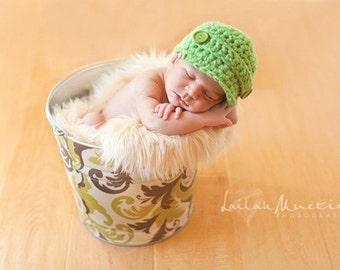 Newborn Baby Photo Prop Galvanized Bucket Loden Foliage