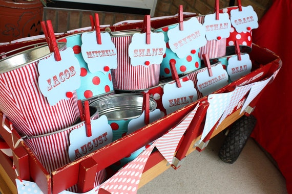 10 Galvanized Pails - Buy More and Save - You Pick the Prints