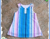 Moving Sale---Girls dress  -  One of a Kind OOAK