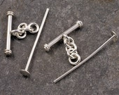sterling silver cufflink kit - just add beads