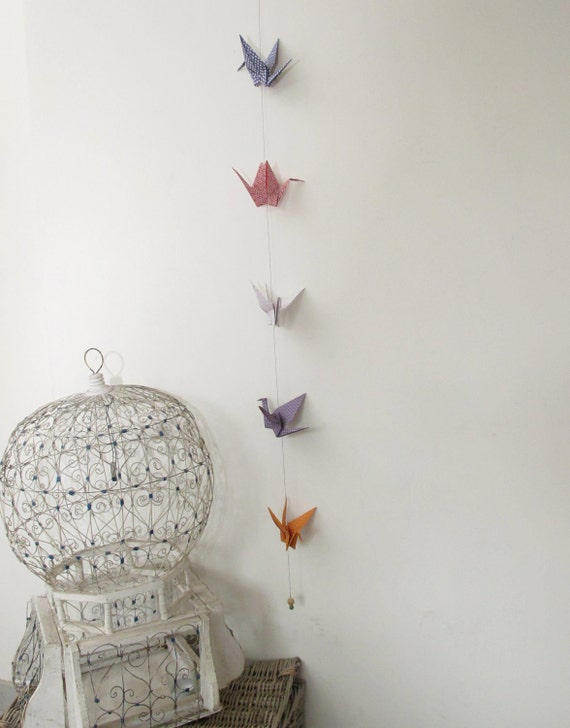 cranes garland (Shipping costs offered)