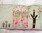 Cozy Cottages Pillow