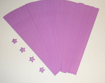 Origami Lucky Star Strips - Purple Pack of 100