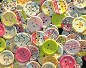 CUT N PASTE Collection Paper Button Embellishments