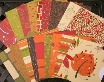 NUTMEG Autumn Collection By SEI 6x6 Paper Pack Sampler
