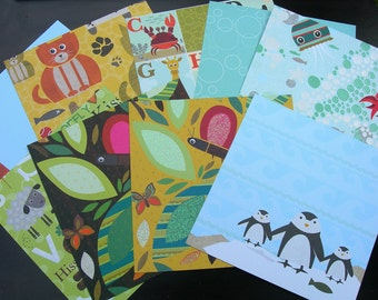 K and Company ACTOPUS to ZELEPHANT SPECIALTY Paper Pack Sampler