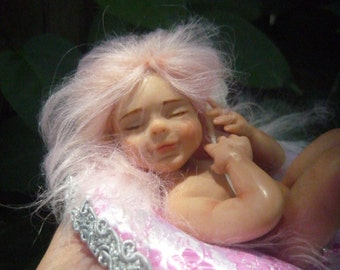 CUSTOM MADE your fairy with your looks for a special gift
