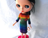 Blythe Raglan Sweater Dress Knitting Pattern PDF Knit Cardigan