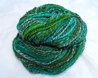Enchanted Lagoon Hanspun Wooly Sock Yarn 2oz 118yds