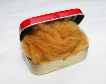 Vicuna Fiber in Tin of Exotic Luxury