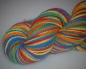 Rainbows Glorious Merino 2 ply by Beemer Knits
