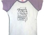 5 DOLLAR SALE: Vegetarian Typewriter Mice (Girls 7/8, 10/12, 14/16)