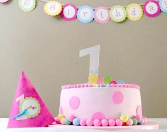 The Caterpillar Collection - Custom Cake Topper from Mary Had a Little Party