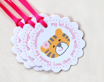 Girls' Tiger Collection - Fantastic Favor Tags with Bags from Mary Had a Little Party