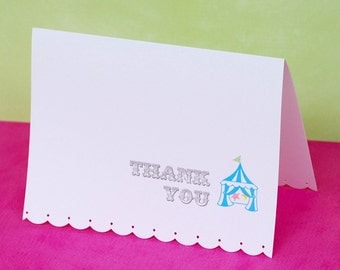 THE CIRCUS COLLECTION - Custom Thank You's from Mary Had a Little Party