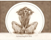 Laughing Faun by Renae Taylor