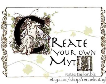 Create, Greeting Card by Renae Taylor