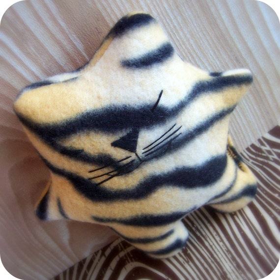 Wild Tiger Kitty Baby - Catnip Toy for your Kitty