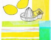 Lemon Cloud : Limited Edition Print