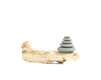 Balance Rock and Stick Photograph Zen Photograph Beach Decor Ocean Themed Art Marine Art Ocean Rock Driftwood Print