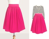 Custom pink skirt WITHOUT pockets