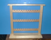 Maple and Cherry Earring Display Rack