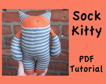PDF Tutorial - Sock Kitty