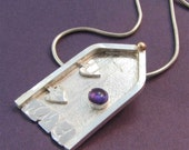 Fairy Door 1 sterling silver pendant