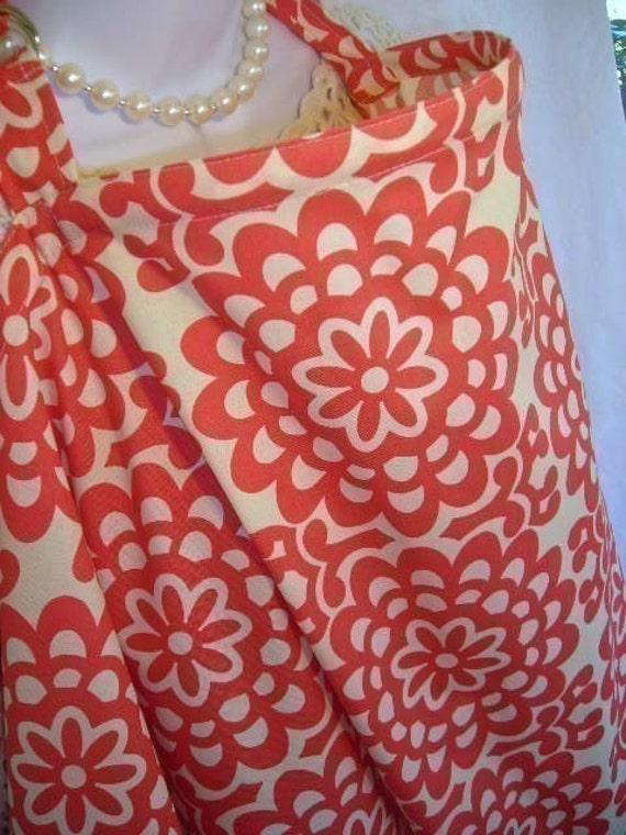 Nursing Cover - CHERRY WALLFLOWER - Over 80  STYLISH Prints Up