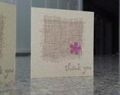 Custom Mini Thank You cards for Fiveforty - set of 100
