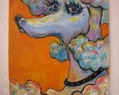 Mabelline (acrylic painting)