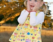 PDF Pinafore Pattern SIZE 12M --- Instant Download